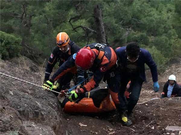 Hasan Ersin Erdemli'deki Uçurumda Ölü Bulundu